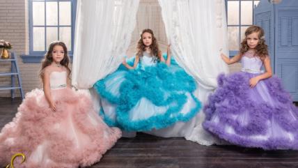 Детские платья от свадебного салона «Дария»