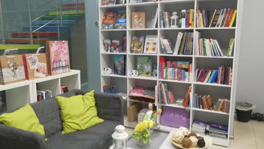 Новый книжный магазин «Литера» в ТЦ «Радуга»!