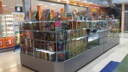 Книжный магазин «Литера» переехал!