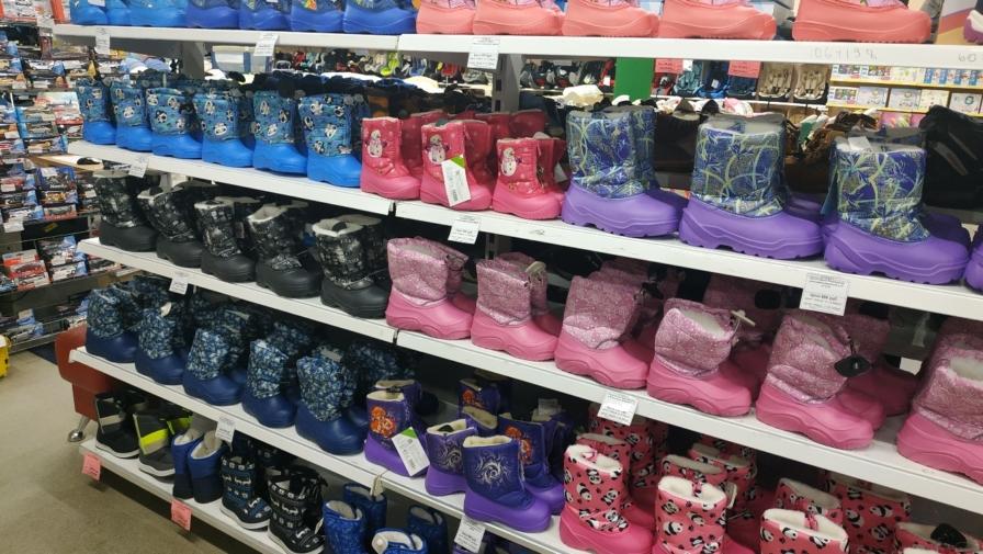 Большое поступление зимней обуви для детей в «Бэбибай»!