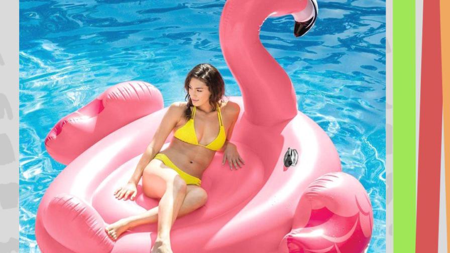 Только 3 дня в магазине «Бэбибай» АКЦИЯ на плот Фламинго!