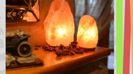 Солевые лампы со скидкой 20%  в отделе Дом Доктор