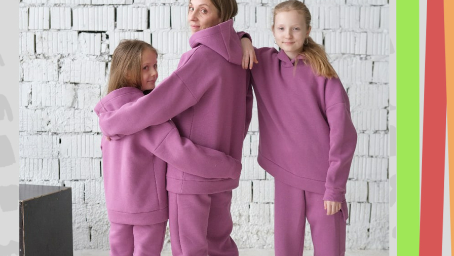 НОВИНКА! Утеплённые костюмы из футера в магазине «САНЯ»